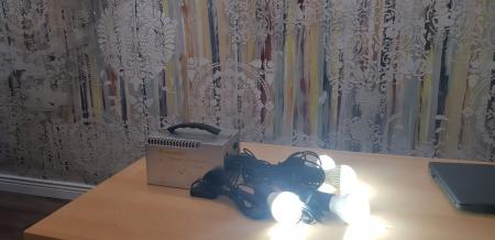Sistem Fotovoltaic Iluminat cu LED-uri Camping5