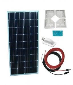 Sistem Fotovoltaic rulota Kit 160 W 12V0