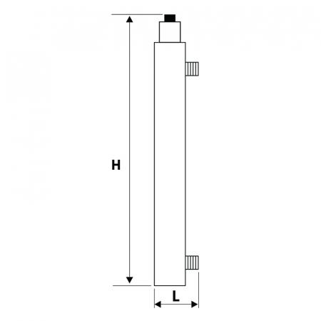 STATIE DEZINFECTIE UV 107 AL 1x12W Q=0.3 MC/H1