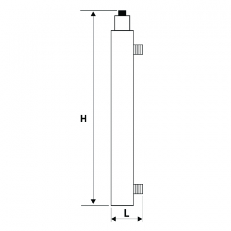 STATIE DEZINFECTIE  UV 405 AL 1x30W Q=1.14 MC/H1