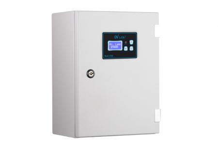 STATIE DEZINFECTIE  UV 80/3 RACK LCD PLUS Q=20 MC/H1