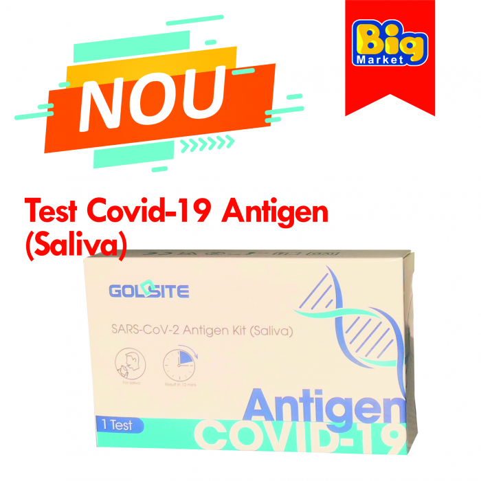 Test rapid COVID-19 Antigen (saliva) 0