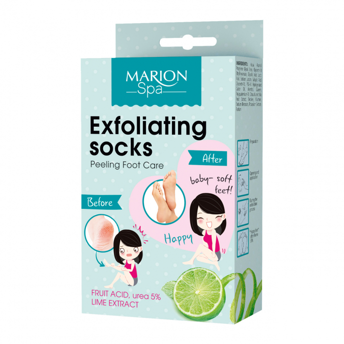 Marion Spa Tratament Exfoliere Calcaie Crapate-Marion Spa [0]