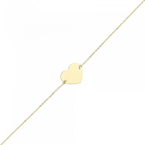 Bratara aur galben inimioara - DA327 0