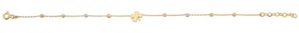 Bratara aur galben si alb trifoi - DA388 0