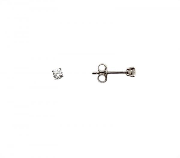 Cercei argint rodiat cu zirconia - DA153 0