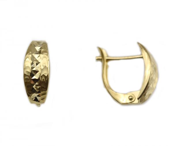 Cercei aur galben 14k - DA62 0