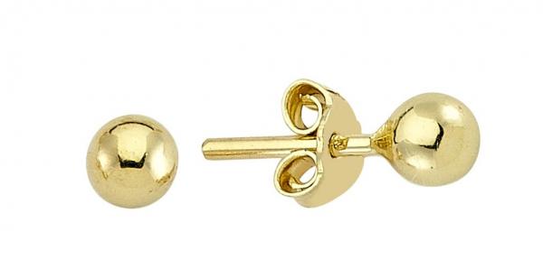 Cercei aur galben bobite - DA237 0