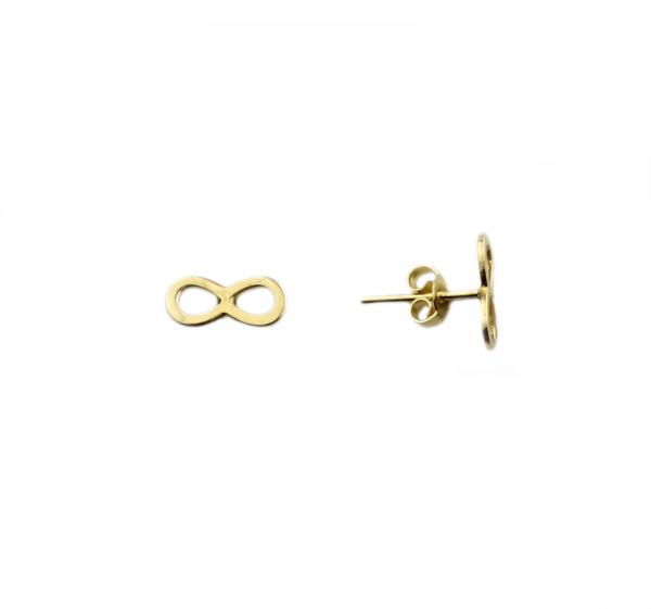 Cercei aur galben infinit - DA395 0