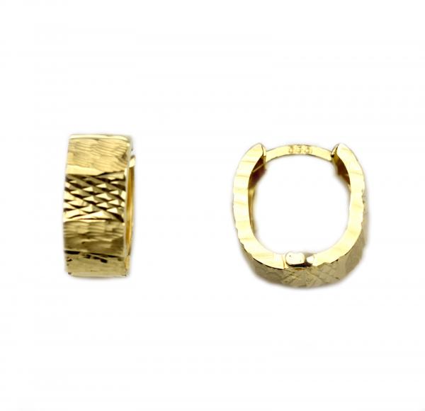 Cercei aur galben lati - DA43 0