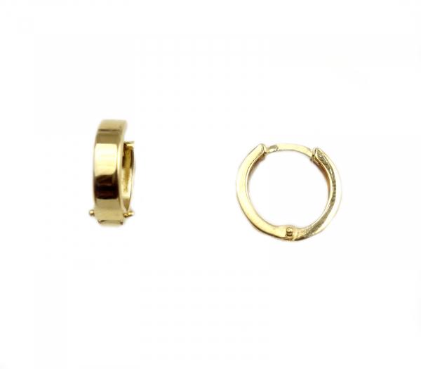 Cercei aur galben tortite - DA54 [0]