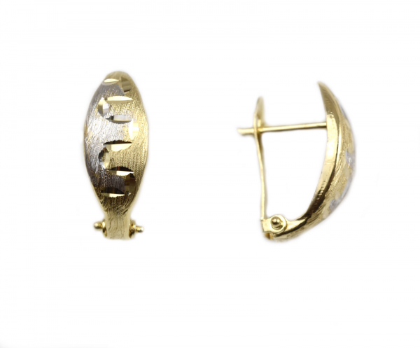 Cercei aur model linia vietii- DA33