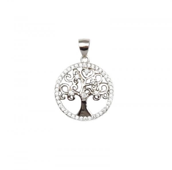 Pandant argint model copacul vietii - DA98 0