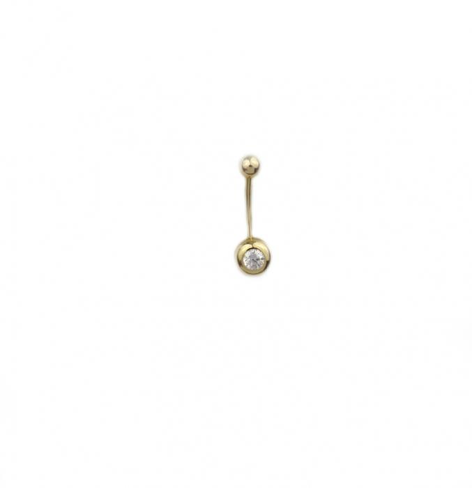 Piercing aur galben buric - DA496 [0]