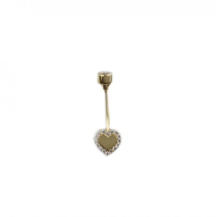 Piercing aur galben buric - DA497 [0]