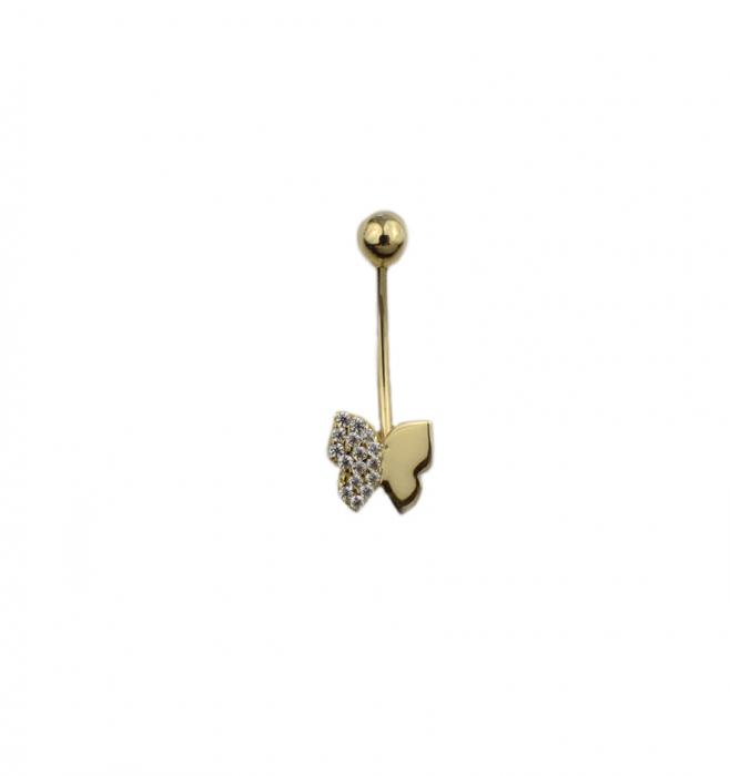 Piercing aur galben buric - DA500 [0]
