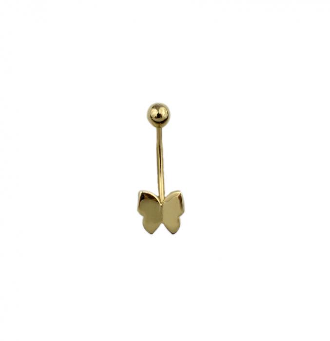 Piercing aur galben buric - DA501 [0]
