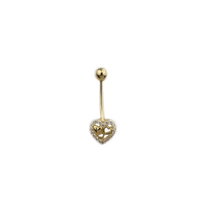 Piercing aur galben buric - DA503 [0]