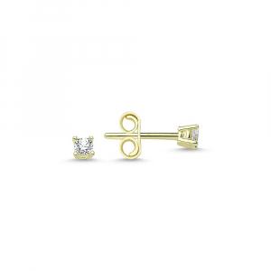 Cercei aur galben cu zirconia - DA3330