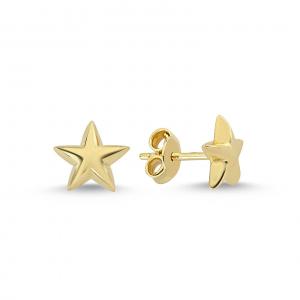 Cercei aur galben stelute - DA2290