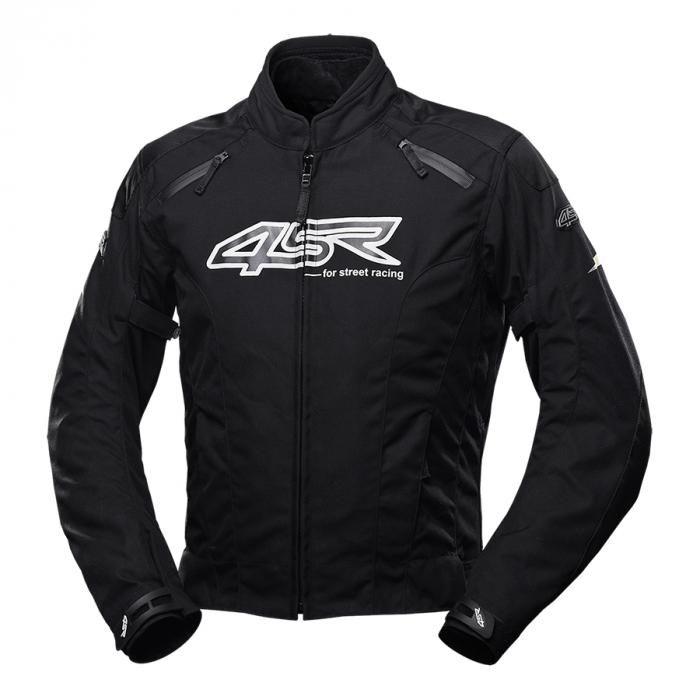 Geaca moto textil 4SR DRIFT BLACK [0]