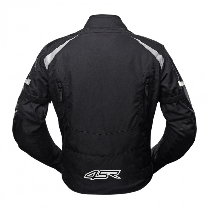 Geaca moto textil 4SR DRIFT BLACK [1]
