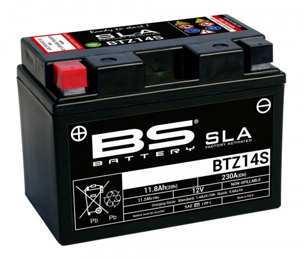 Baterie activata din fabrica BS-BATTERY YTZ7S 1