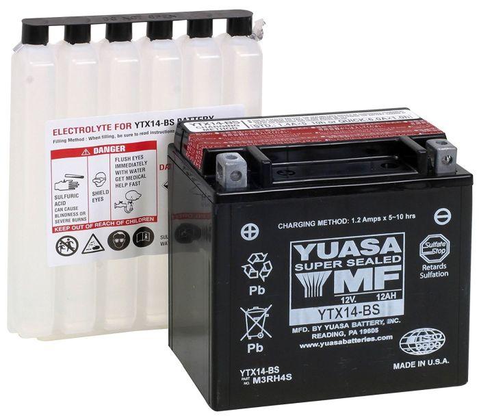 Baterie fara intretinere YUASA YTX14-BS 0