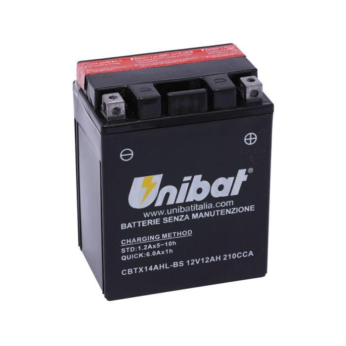 Baterie Unibat YTX14AHL-BS 0