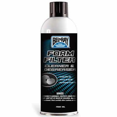 BEL RAY spray curatare filtru de aer sport 400ml 0