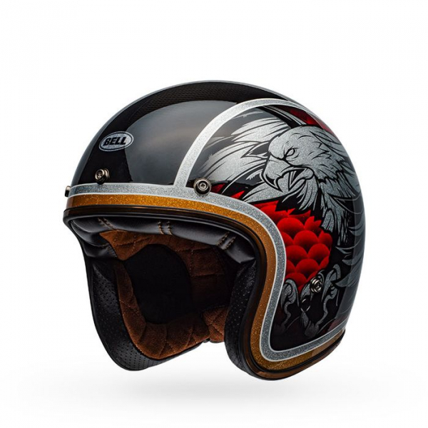 Casca moto open face BELL CUSTOM 500 CARBON OSPREY [6]