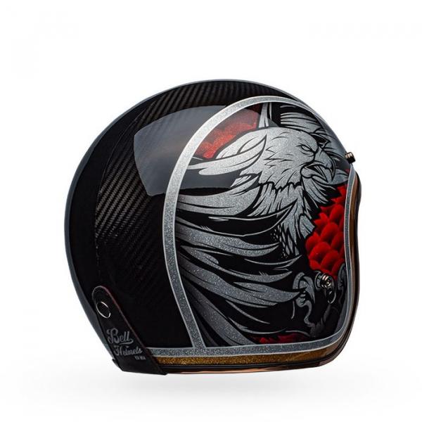 Casca moto open face BELL CUSTOM 500 CARBON OSPREY [2]