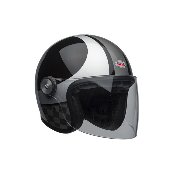 Casca moto open face BELL RIOT CHECKS 0