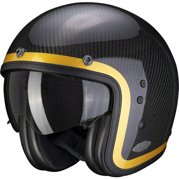 Casca moto open face SCORPION BELFAST CARBON LOFTY [3]