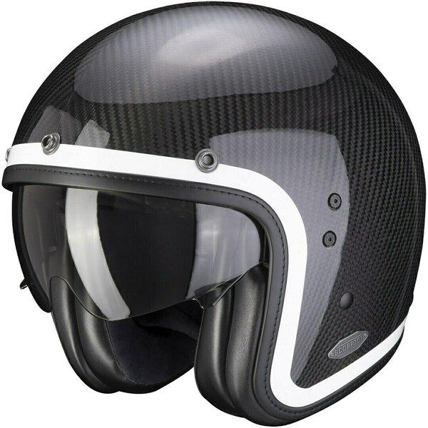 Casca moto open face SCORPION BELFAST CARBON LOFTY [0]