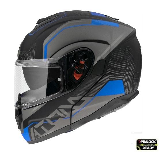 Casca moto flip-up MT Atom SV QUARK 0