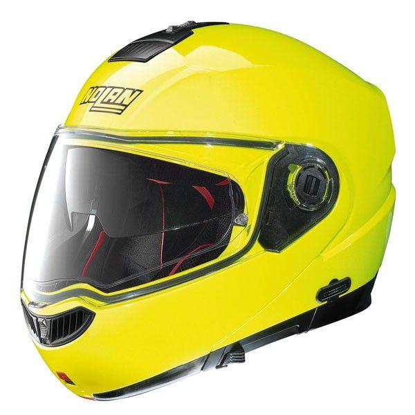 Casca moto flip up Nolan N104 Absolute HI Visibility N Com 0