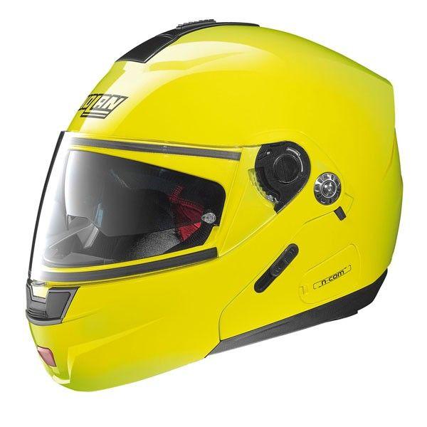 Casca moto flip up Nolan N91 Evo HI Visibility N Com 0