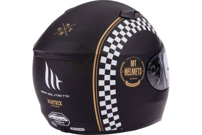 Casca moto integrala MT Matrix Cafe Racer 3