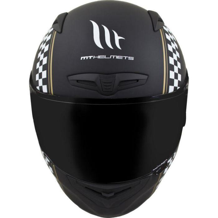 Casca moto integrala MT Matrix Cafe Racer 2