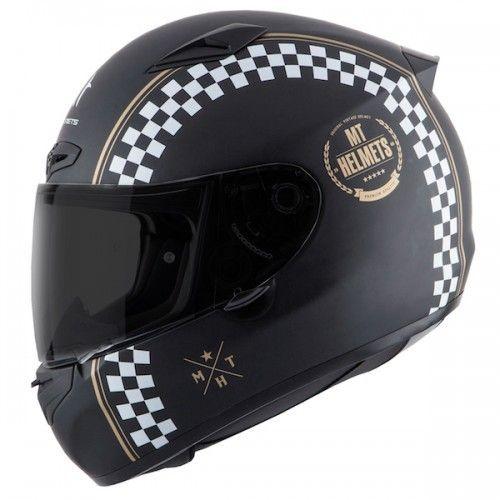 Casca moto integrala MT Matrix Cafe Racer 0