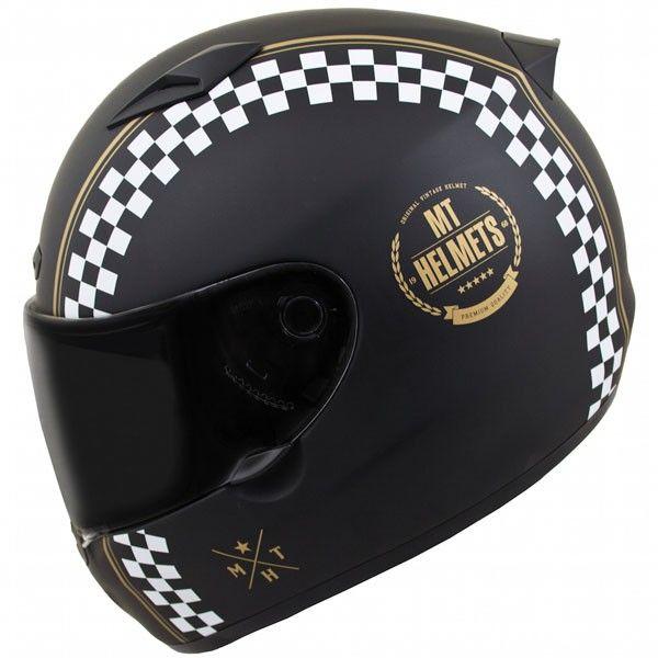Casca moto integrala MT Matrix Cafe Racer 1