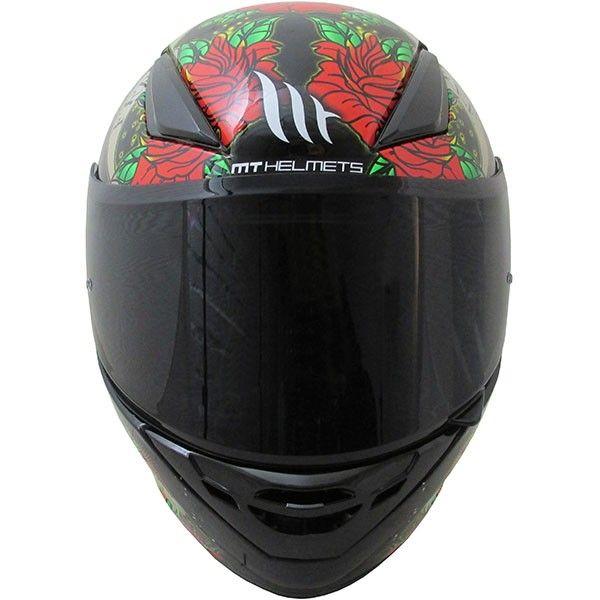 Casca moto integrala MT Revenge Skull & Rose 1