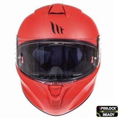 Casca moto integrala MT TARGO Solid A5 Rosu Mat 2
