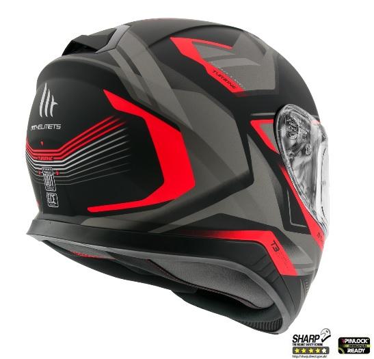 Casca moto MT Helmets THUNDER 3 SV TURBINE 5