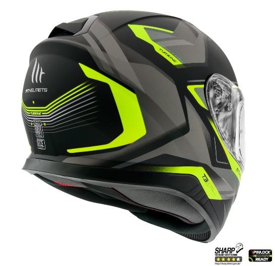 Casca moto MT Helmets THUNDER 3 SV TURBINE 2
