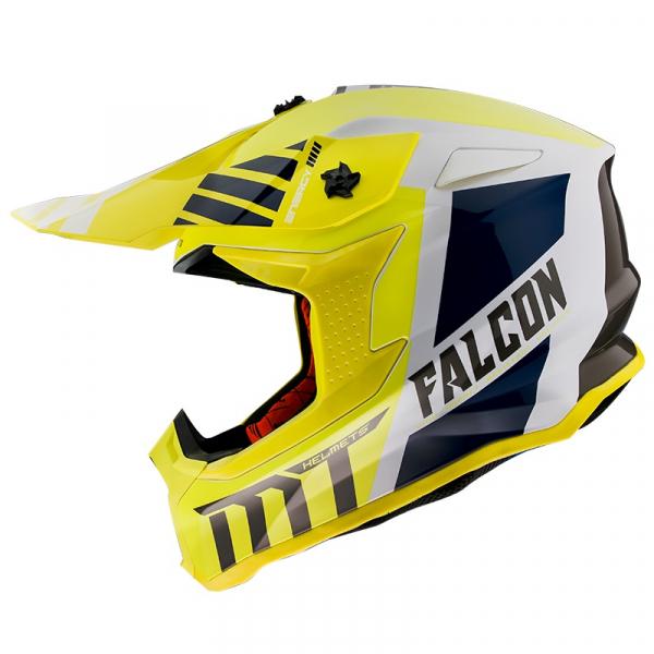 Casca moto off road MT FALCON WARRIOR A3 [0]
