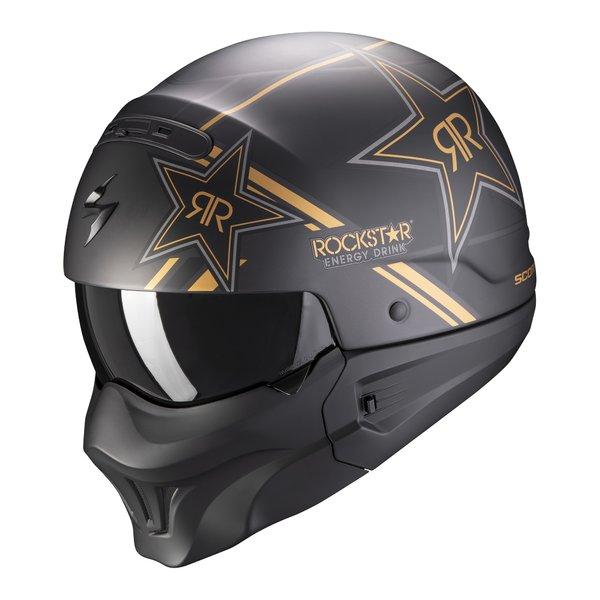 Casca moto SCORPION EXO COMBAT EVO ROCKSTAR 0