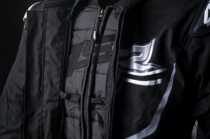 Geaca moto textil 4SR RTX Black [2]