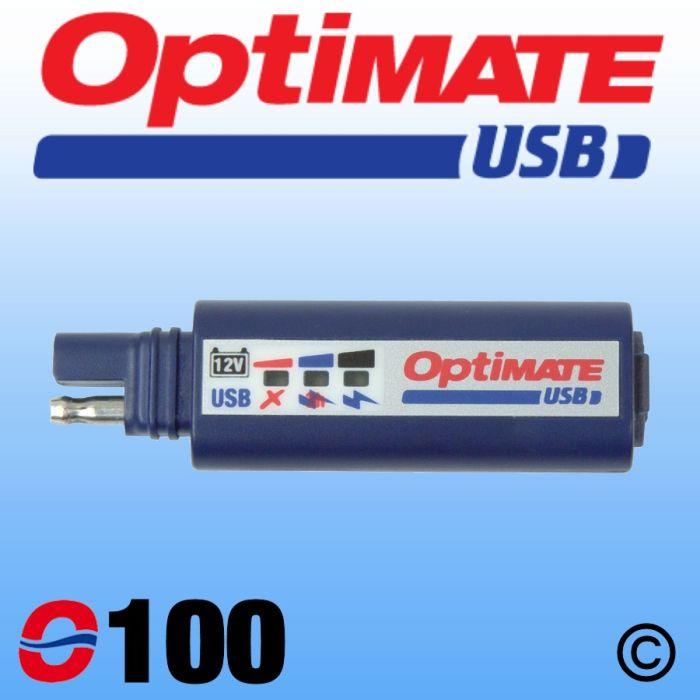 Incarcator universal USB OPTIMATE O100 2400 mAh [1]